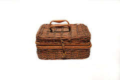 Box, wicker casket, casket Royalty Free Stock Photography