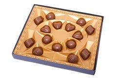 Free Box With Chocolates Stock Photography - 17809522