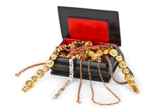 Box With Jewelry Royalty Free Stock Photo