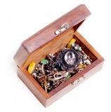 Box With Jewelry Stock Image