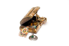 Free Box With Jewelry Stock Photos - 4186373