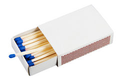 Box With Matches Royalty Free Stock Photo