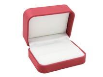 Box2 rosso Immagine Stock