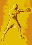 Boxare stock illustrationer