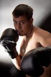 boxare royaltyfri foto