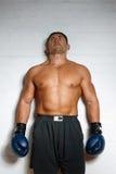 boxare costs väggen Fotografering för Bildbyråer