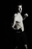 boxarekämpe Arkivfoton