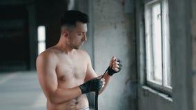 Boxareknipor förbinder stock video
