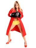 boxarekvinna Royaltyfria Foton