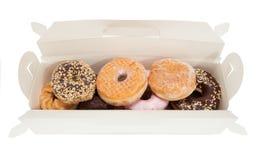Boxas av Donuts Fotografering för Bildbyråer