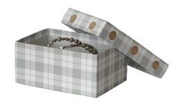 Boxas för smycken Royaltyfri Bild
