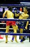 boxas som är thai Arkivbild
