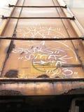 Boxcar σκάλα στοκ φωτογραφία με δικαίωμα ελεύθερης χρήσης