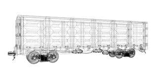 Boxcar Stock Image