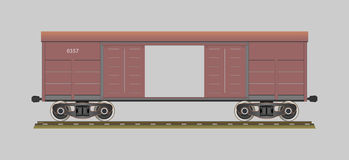 Boxcar Royalty Free Stock Photo