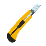 Boxcutter tool icon. Household box cutter instrument for general stock illustration