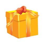 Boxe del regalo de la Navidad Imagenes de archivo