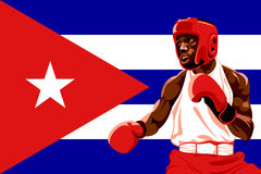 Boxe du Cuba Photo stock