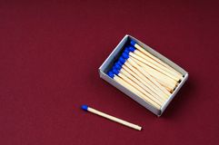 Boxe of matches Royalty Free Stock Images
