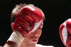 Boxe tailandês internacional, K1, Muay tailandês - Dicks Imagens de Stock Royalty Free