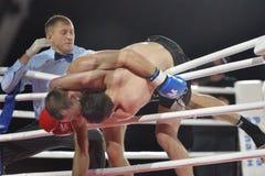 Boxe thaïe Image libre de droits