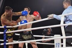 Boxe thaïe Photo libre de droits