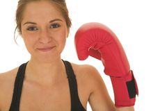 Boxeador #02 Fotografía de archivo