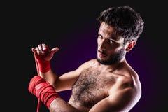 Boxeador imagen de archivo libre de regalías