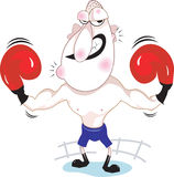 Boxeador Imagen de archivo
