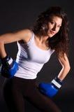 Boxeador atractivo. Foto de archivo libre de regalías