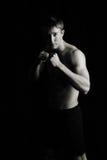 Boxeador, combatiente Imagen de archivo libre de regalías