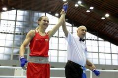 Boxeador de Stanimira Petra Fotos de archivo libres de regalías
