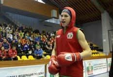 Boxeador de Stanimira Petra Imagenes de archivo