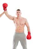 Boxeador del campeón imágenes de archivo libres de regalías