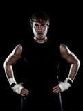 Boxeador del combatiente Fotografía de archivo libre de regalías