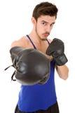 Boxeador del hombre Imagen de archivo