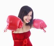 Boxeador hermoso Fotografía de archivo