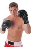 Boxeador joven Imagenes de archivo