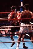 Boxeador pesado de Leon Spinks foto de archivo libre de regalías