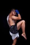 Boxeador tailandés de Muay Foto de archivo libre de regalías