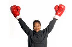 Boxeador urbano fotografía de archivo