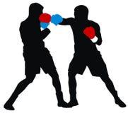 Boxeadores stock de ilustración