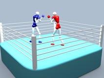 Boxeadores Fotos de archivo libres de regalías