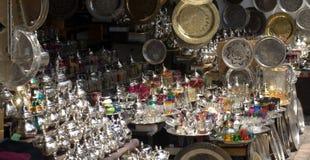 Boxen in de markten van het oosten royalty-vrije stock fotografie