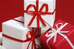 boxen prezent zdjęcie stock