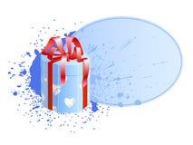 Boxen Sie mit Vignette 3 Stockbild