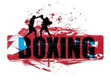 Boxeo ilustración del vector