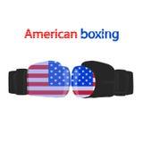 Boxeo americano Fotografía de archivo