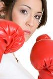 Boxeo de la persona fotografía de archivo