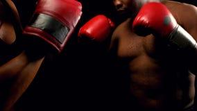Boxeo de los pares con uno a metrajes